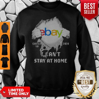 Blood Inside Me EBay COVID-19 2020 I Can't Stay At Home Sweatshirt