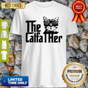Cute Cat The Caffa Ther Shirt