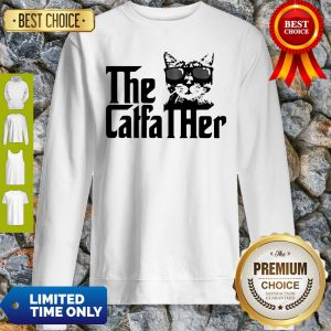 Cute Cat The Caffa Ther Sweatshirt