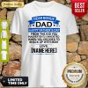 Dear Bonus Dad Happy Fathers Day From The Kid Shake With Mom Shirt