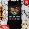 Funny Turtle Autism It's Ok To Be Different Tank Top