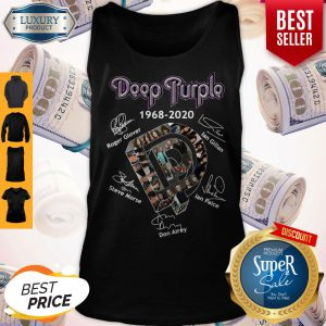 Good Deep Purple 1968 2020 Signatures Tank Top