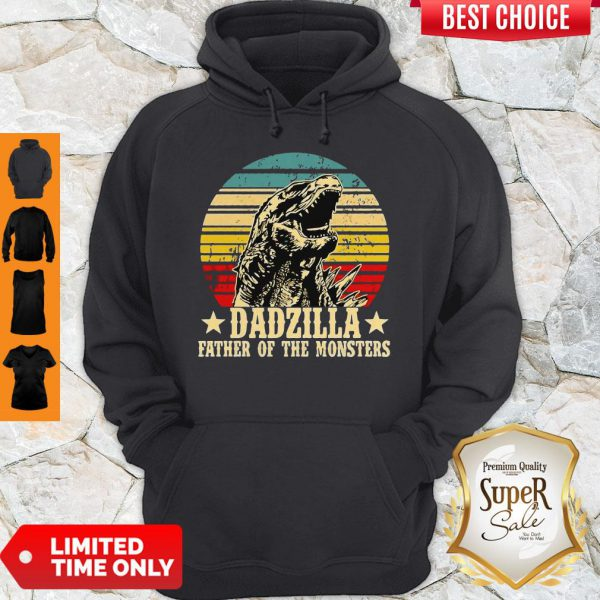 Nice Gorilla Dadzilla Father Of The Monsters Hoodie