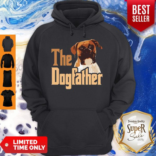 Nice Boxer The Dogfather Father's Day Hoodie