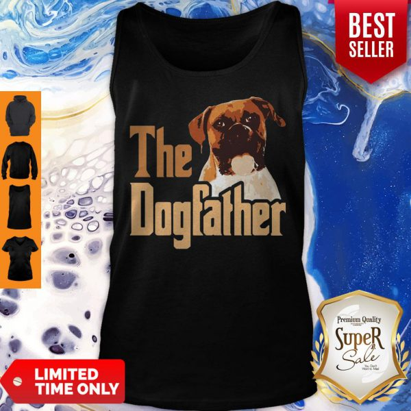 Nice Boxer The Dogfather Father's Day Tank Top