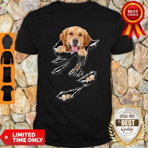 Official Golden Retriever Torn VRFM Shirt