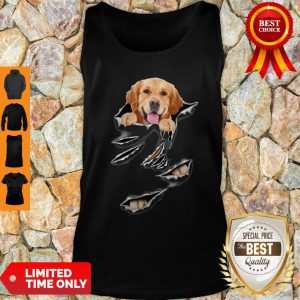 Official Golden Retriever Torn VRFM Tank Top