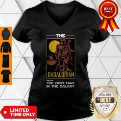 Official The Dadalorian The Best Dad In The Galaxy V-neck