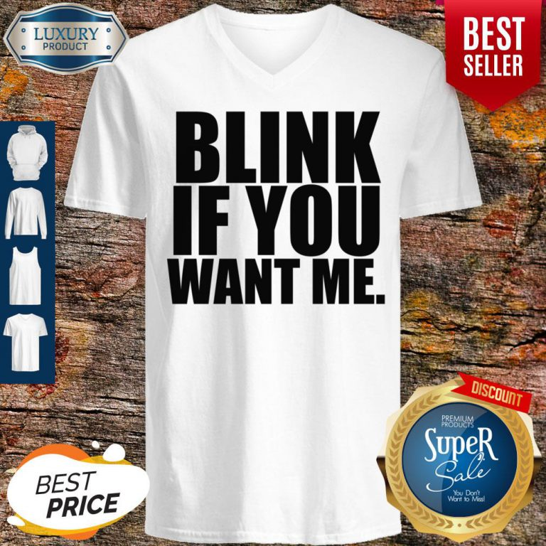 Premium Kenny Powers Blink If You Want Me V-neck