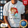 Pretty Cinderella And Ariel Friends Shirt