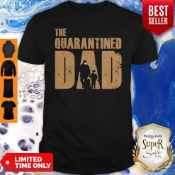 Top Dad And Son Mask The Quarantined Dad Shirt