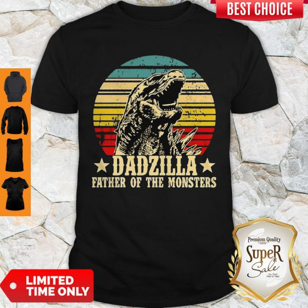Nice Gorilla Dadzilla Father Of The Monsters ShirtNice Gorilla Dadzilla Father Of The Monsters Shirt
