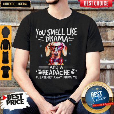 You Smell Like Drama Dog And A Headache Please Get Away From Me Shirt