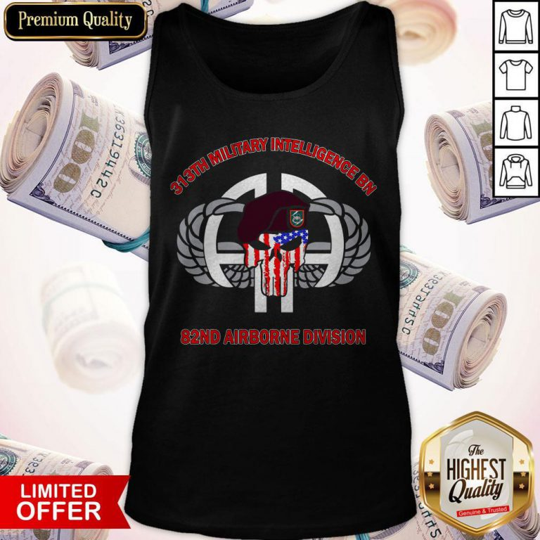 313th Military Intelligence BN 82nd Airborne Division Tank Top