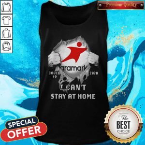 Aramark Inside Me COVID-19 2020 I Can't Stay At Home Tank Top