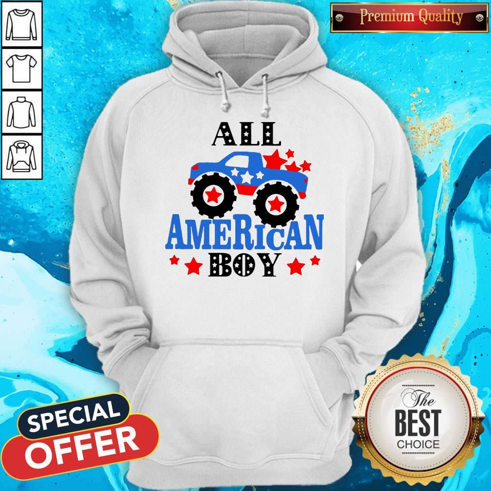 Awesome All American Boy Independence Day Hoodie
