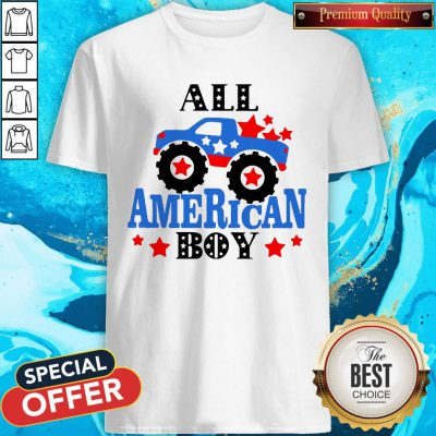 Awesome All American Boy Independence Day Shirt