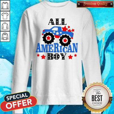 Awesome All American Boy Independence Day Sweatshirt