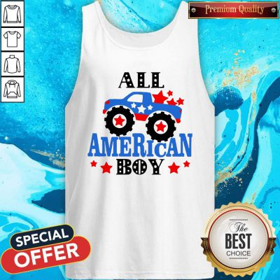 Awesome All American Boy Independence Day Tank Top