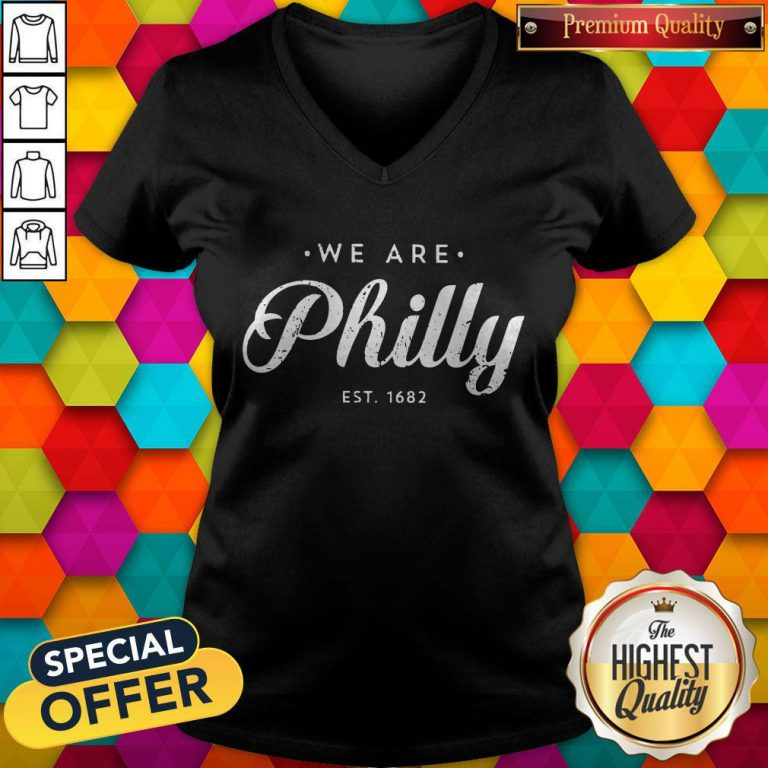 Awesome We Are Philly V-neck