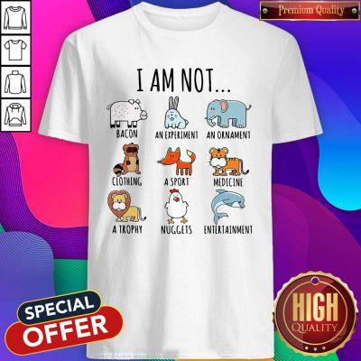 Cute I Am Not Bacon An Experiment An Ornament Shirt