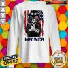 Cute Meowica 14th of July Independence Day Flag Sweatshirt