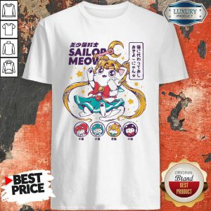 Cute Sailor Meow Sailor Moon Anime Shirt