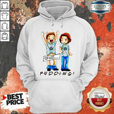 Cute Sam And Dean Winchester On My Pudding Hoodie