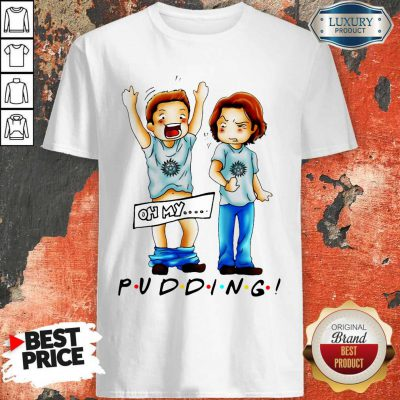 Cute Sam And Dean Winchester On My Pudding Shirt