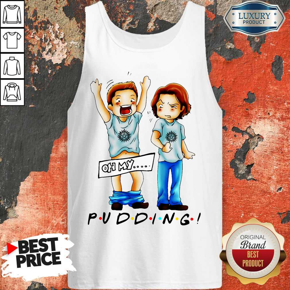 Cute Sam And Dean Winchester On My Pudding Tank Top