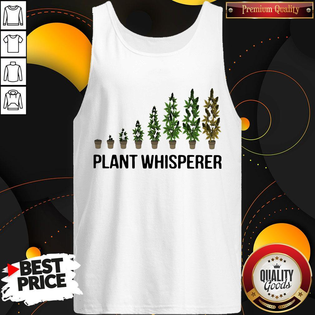 Cute Weed Plant Whisperer Tank Top