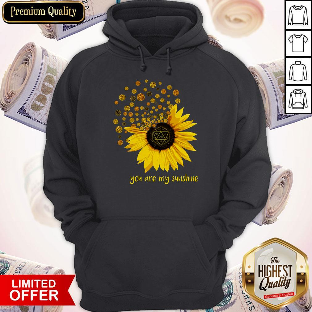 Dungeons Dragons Sunflower You Are My Sunshine Hoodie