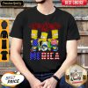 Funny Bart Simpson Happy The 4th Of July America Shirt