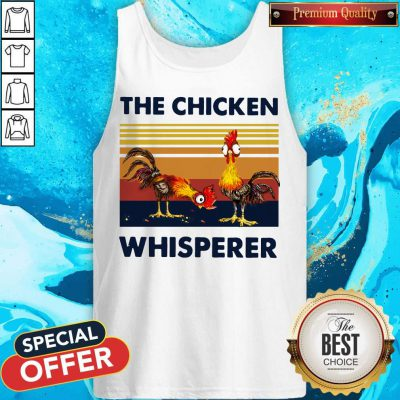 Funny Chicken The Chicken Whisperer Vintage Tank Top