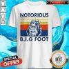 Funny Notorious Big Bigfoot Vintage Shirt