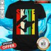 Good Skateboarder Retro Vintage Skateboarding Shirt