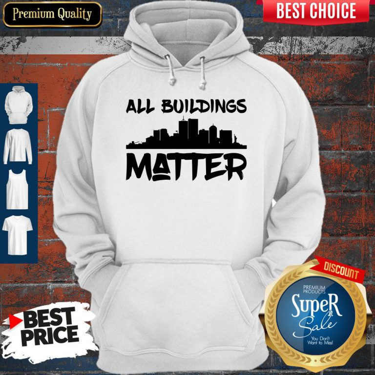 Official All Building Matter Hoodie