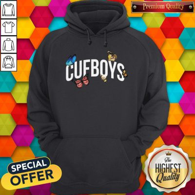 Official Cufboys Butterfly Hoodie