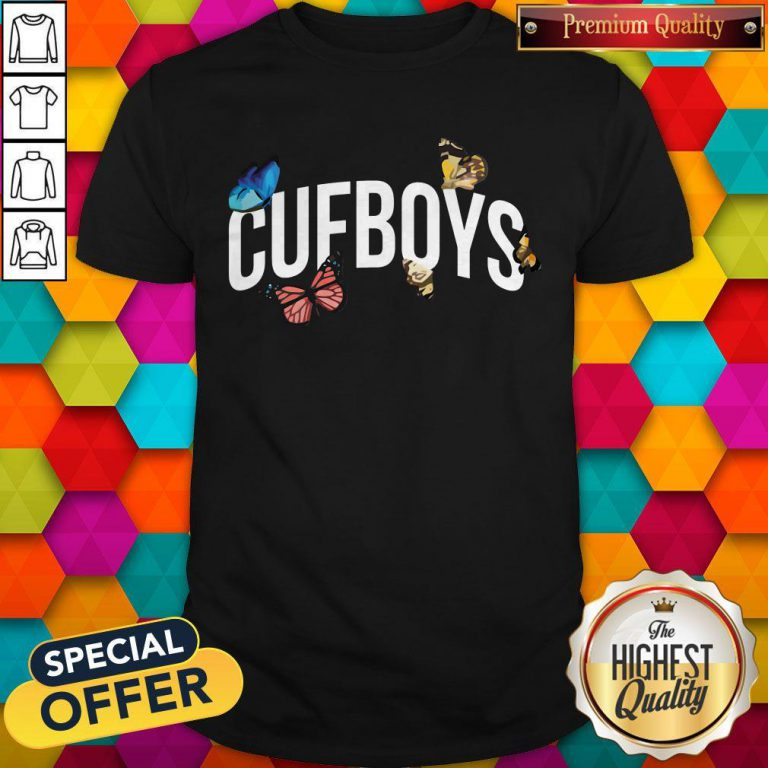 Official Cufboys Butterfly Shirt
