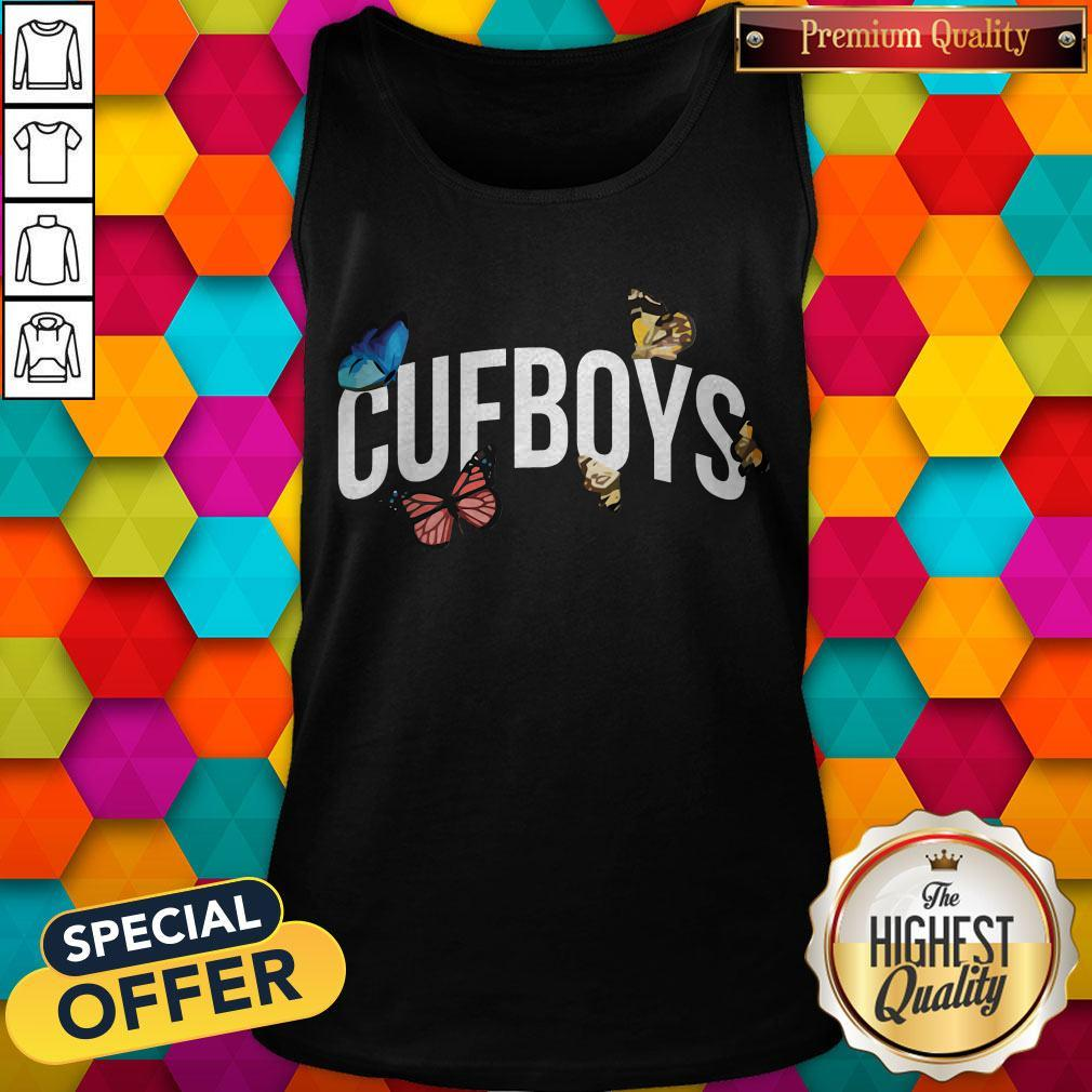 Official Cufboys Butterfly Tank Top