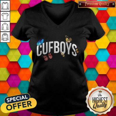 Official Cufboys Butterfly V-neck