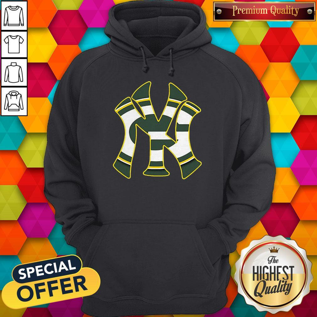 Official New York Yankees And Green Bay Packers Hoodie