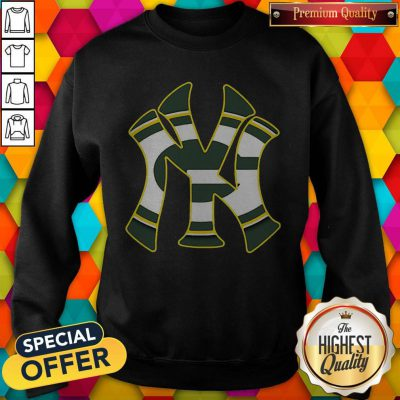 Official New York Yankees And Green Bay Packers Sweatshirt