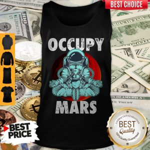 Official Occupy Mars Yoga Tank Top