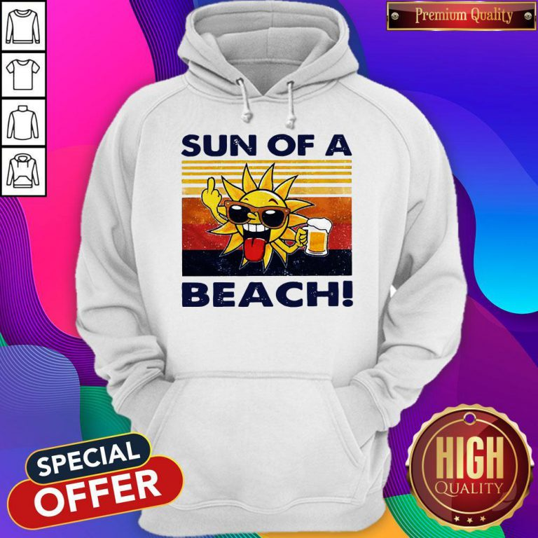Official Sun Of A Beach Vintage Hoodie