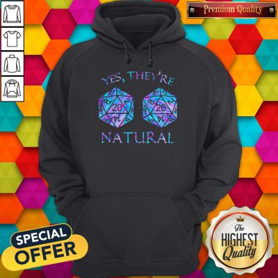 Official Yes They're Natural Hoodie
