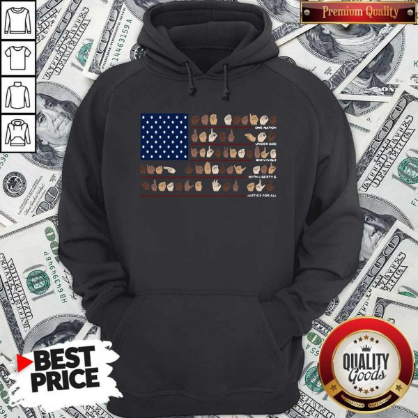 One Nation Under God Indivisible With Liberty And Justice For All Hoodie