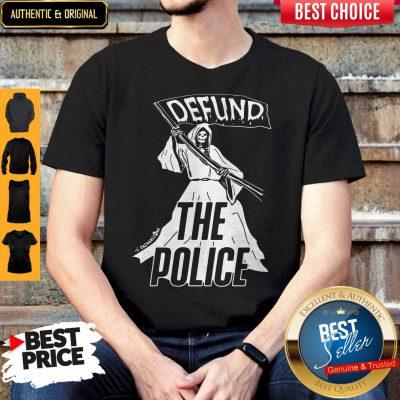 Premium Death Defund The Police Zone Shirt