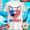 Pretty Meowica 4th Of July Merica Quarantine Shirt