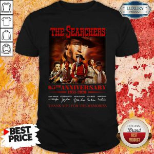 The Searchers 65th Anniversary 1955 2020 Thank You For The Memories Signatures Shirt